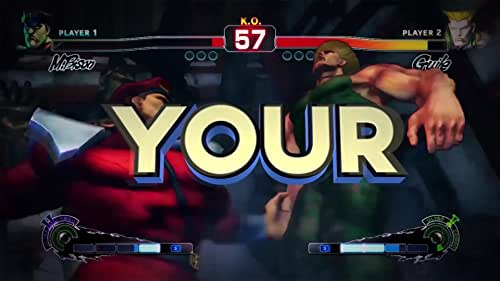 Ultra Street Fighter IV: Features: Face Your Fears, Live Your Dreams.