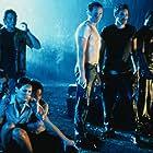 Heidi Lenhart, Steven Moreno, James Parks, Jon Sklaroff, David Valcin, and Anna Cranage in Crocodile 2: Death Swamp (2002)