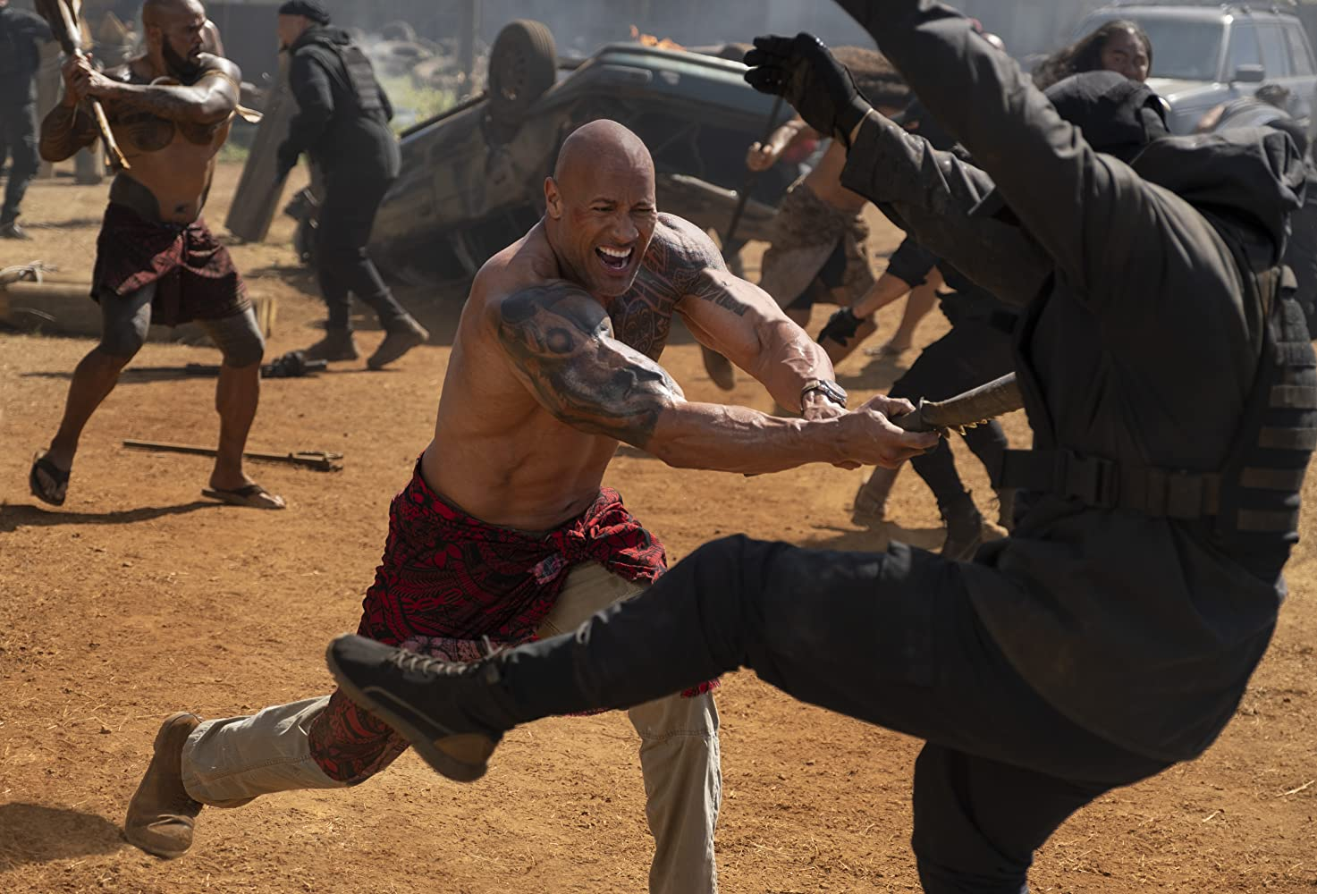 Dwayne Johnson in Fast & Furious Presents: Hobbs & Shaw (2019)