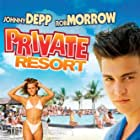 Johnny Depp in Private Resort (1985)