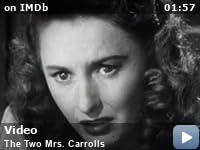 The two Mrs Carroll Humphrey Bogart movie poster 3