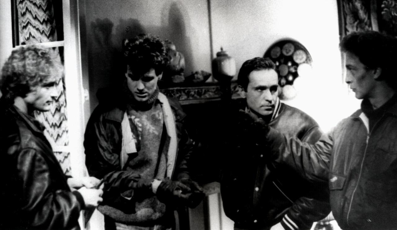 Robert Cantarella, Pierre-Marie Escourrou, and Olivier Granier in Hôtel de police (1985)