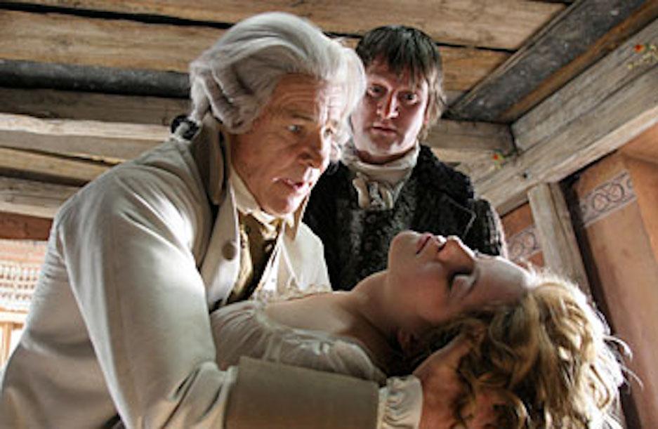 Detlev Buck, Götz George, and Paula Kalenberg in Kabale und Liebe (2005)