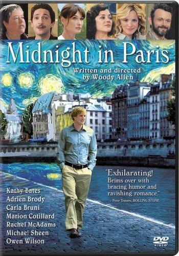 Kathy Bates, Adrien Brody, Owen Wilson, Carla Bruni, Marion Cotillard, Michael Sheen, and Rachel McAdams in Midnight in Paris (2011)