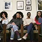 Meta Golding, La'Myia Good, Rashan Ali, and Michelle Threatt in The Waiting Room (2019)