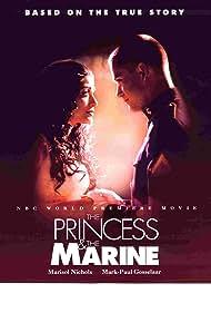 Mark-Paul Gosselaar and Marisol Nichols in The Princess & the Marine (2001)