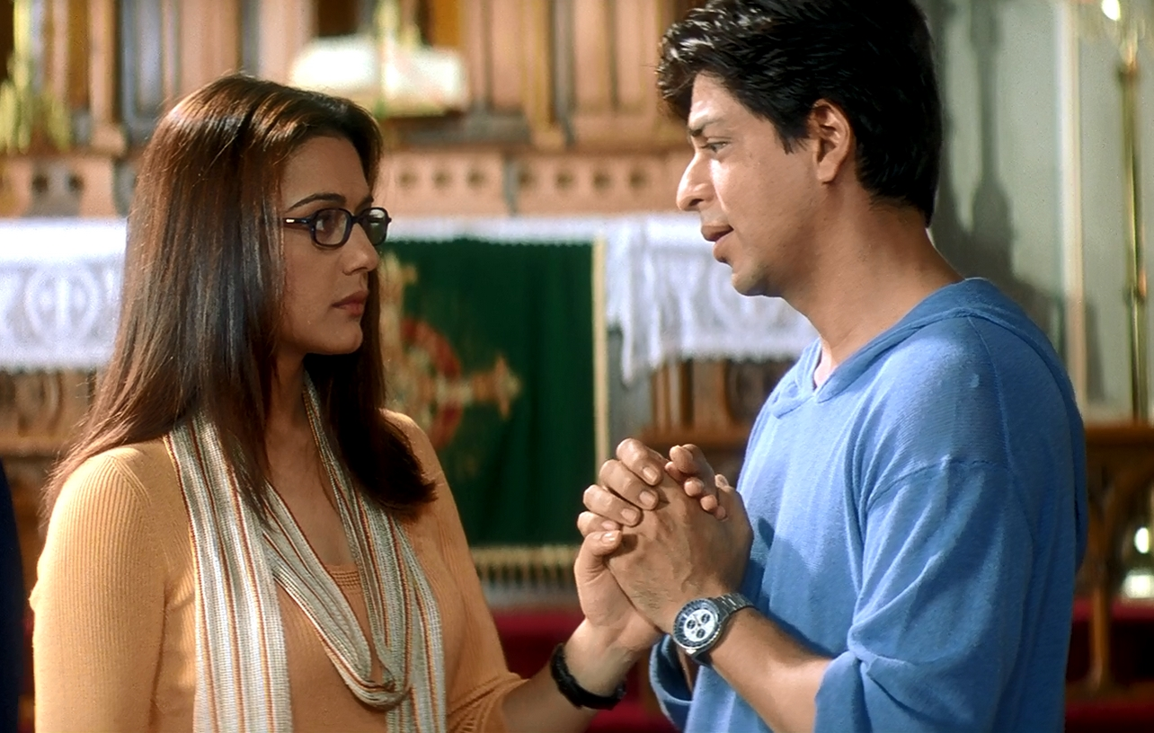 Preity Zinta and Shah Rukh Khan in Kal Ho Naa Ho (2003)