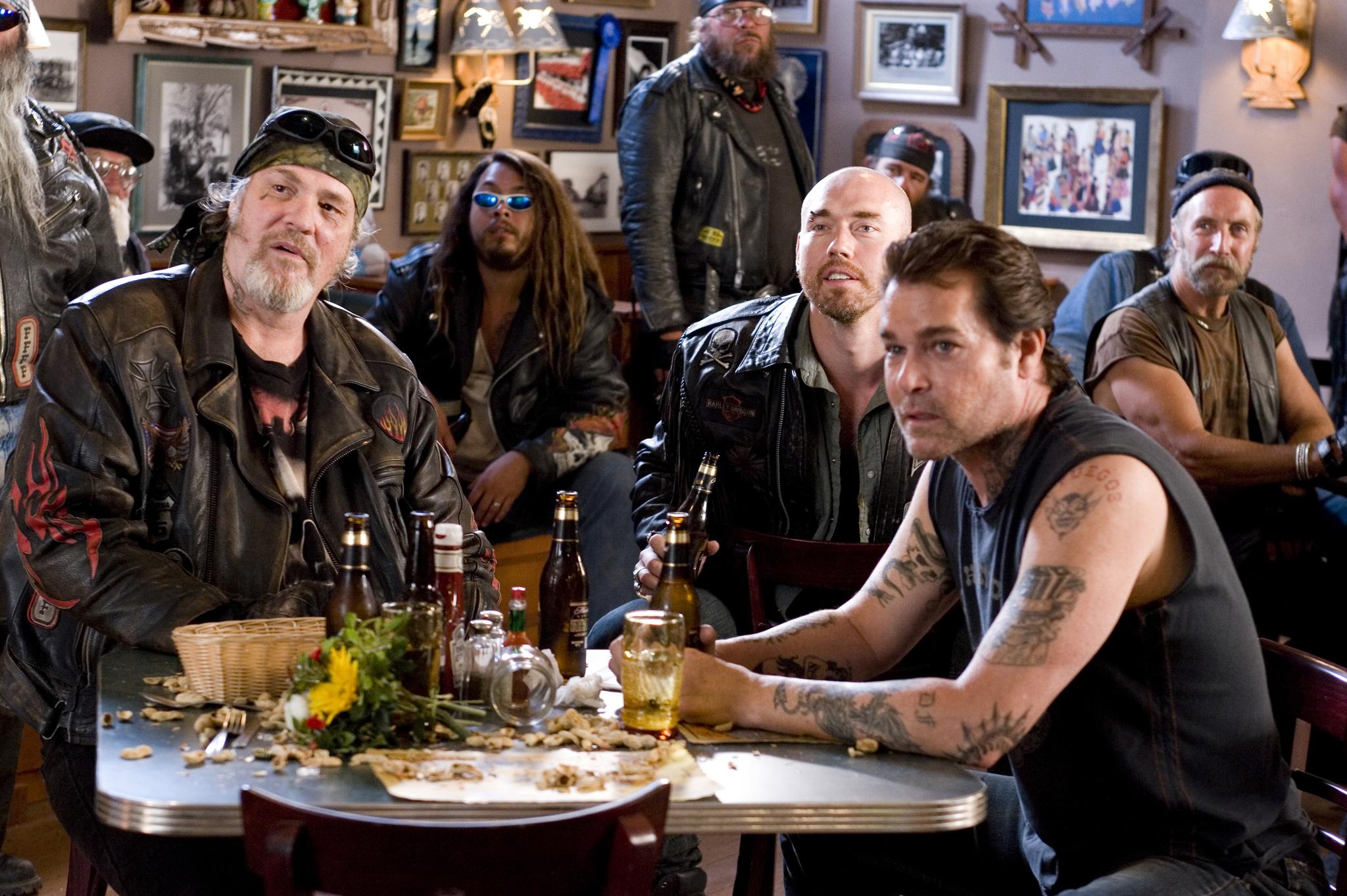 Hardcore biker bar