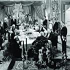 Donna Reed, George Sanders, Lisa Carpenter, Rex Evans, Hurd Hatfield, Peter Lawford, Audrey Manners, and Anita Sharp-Bolster in The Picture of Dorian Gray (1945)