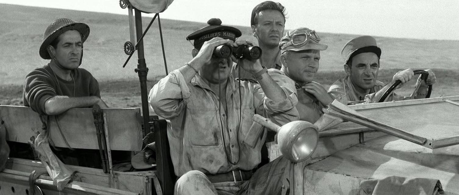 Un taxi pour Tobrouk (1961) Online Subtitrat in Romana