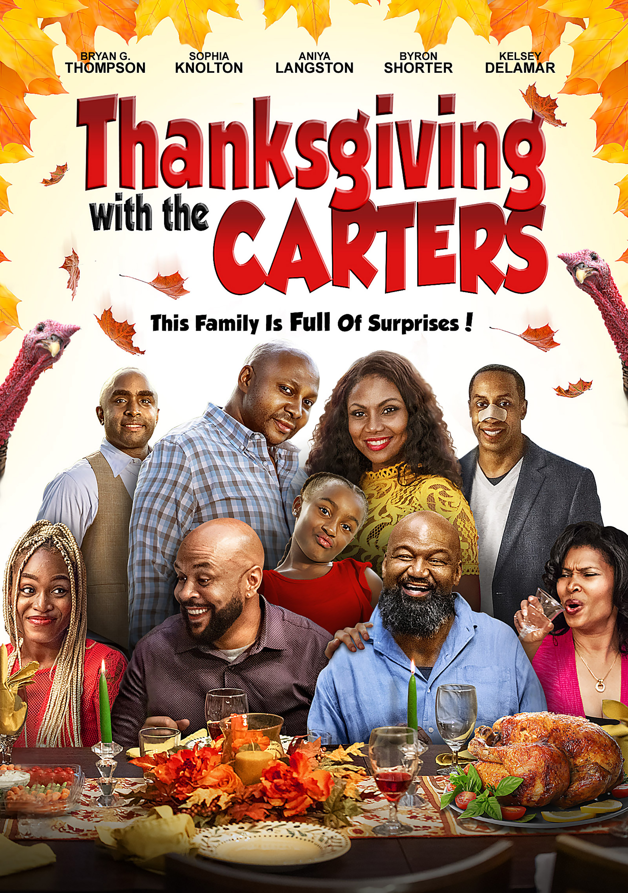 Thanksgiving with the Carters on FREECABLE TV