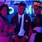 Danna Paola, Georgina Amorós, and Álvaro Rico in Élite (2018)