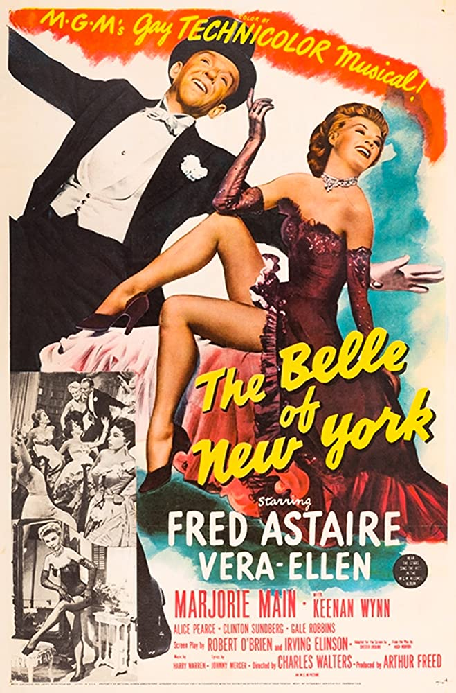 Fred Astaire and Vera-Ellen in The Belle of New York (1952)