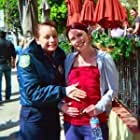 """on-set with Samantha Morton in """"Expired"""""""