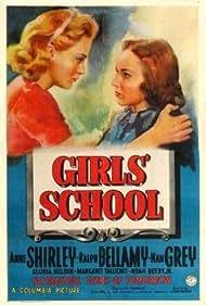 Nan Grey and Anne Shirley in Girls' School (1938)
