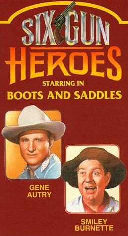 Gene Autry and Smiley Burnette in Boots and Saddles (1937)