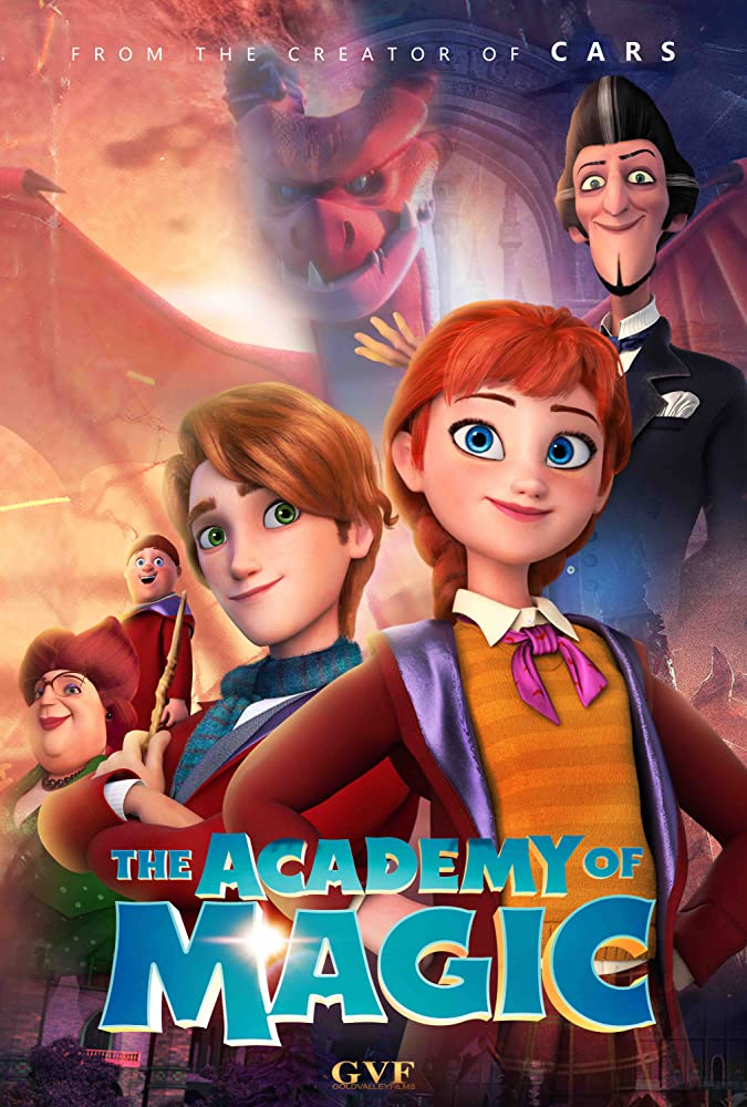 The Academy of Magic 2020 English 273MB HDRip Download