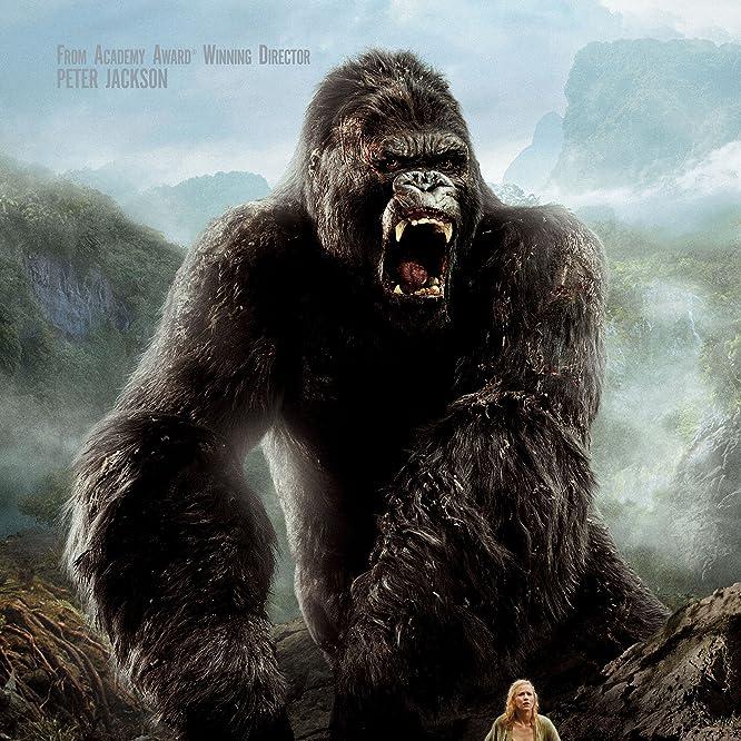 Andy Serkis and Naomi Watts in King Kong (2005)