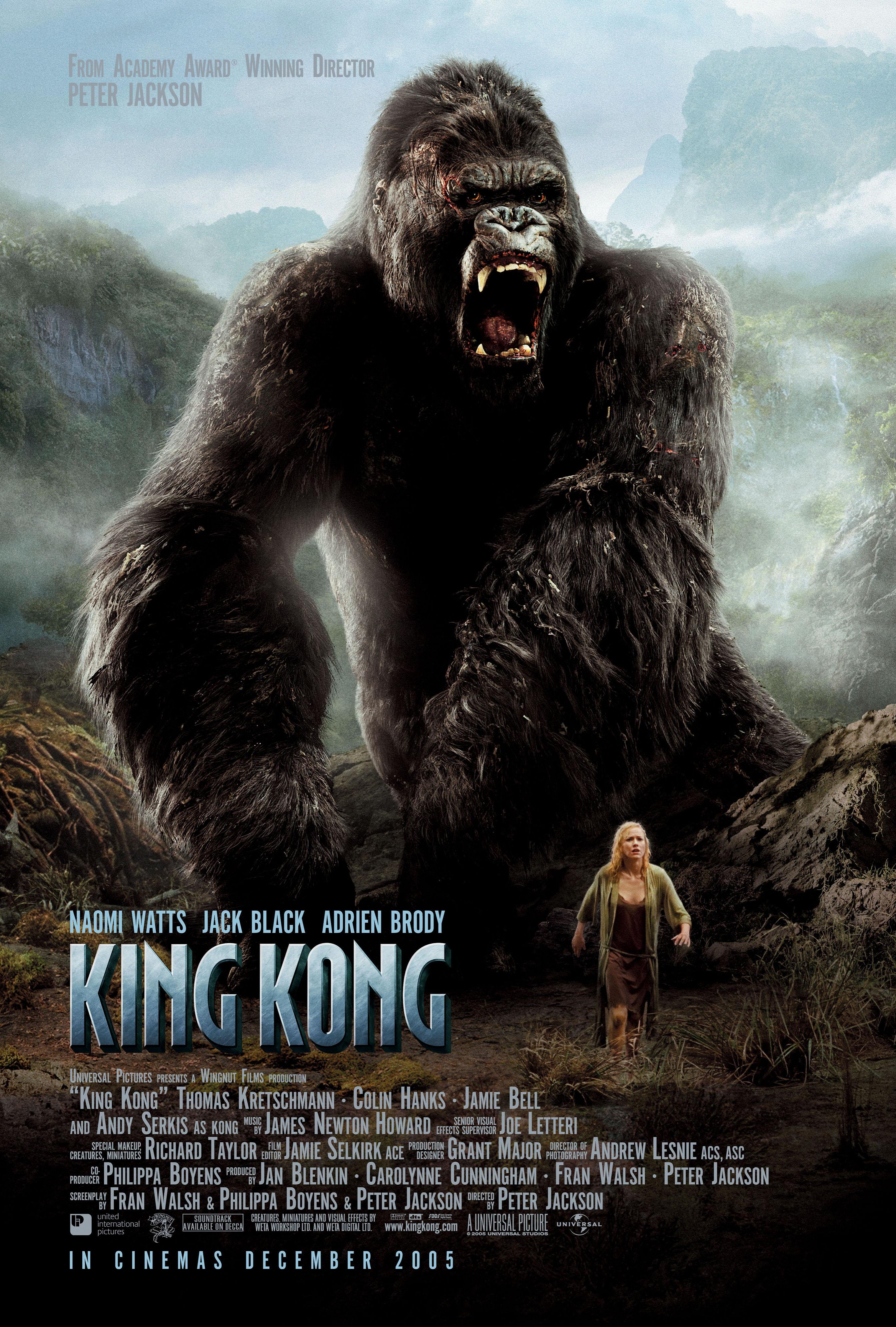 King Kong (2005) BluRay 480p, 720p & 1080p