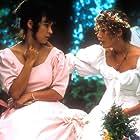 Jennifer Tilly and Emily Lloyd in Scorchers (1991)