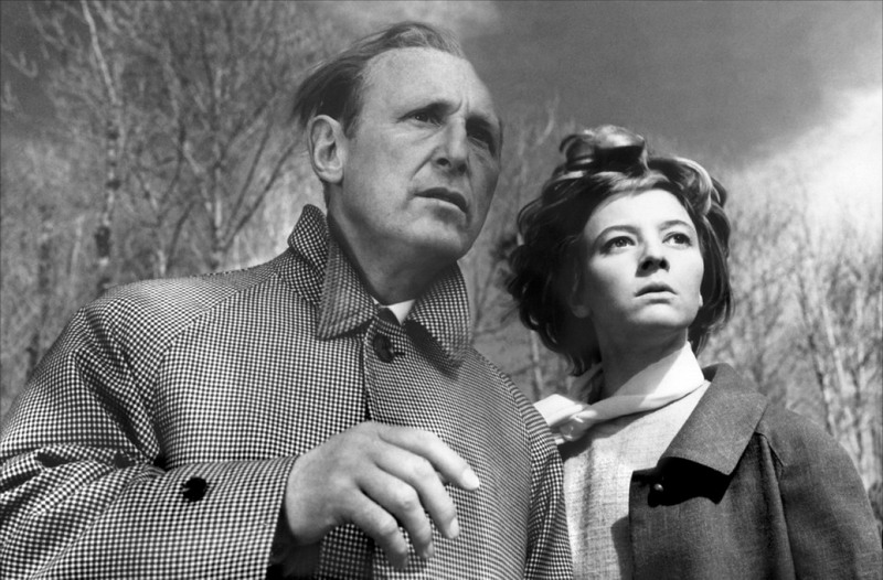 Bourvil and Véronique Nordey in La grande frousse (1964)