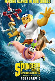 Clancy Brown, Rodger Bumpass, Bill Fagerbakke, Tom Kenny, and Carolyn Lawrence in The SpongeBob Movie: Sponge Out of Water (2015)
