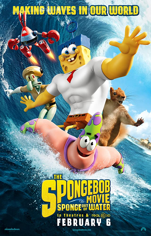 The SpongeBob Movie: Sponge Out of Water (2015) Tagalog Dubbed