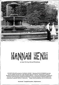 Watch all the movie Hannah Henri [HDR]