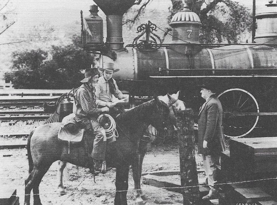 Roy Rogers, Joseph Crehan, and George 'Gabby' Hayes in Nevada City (1941)