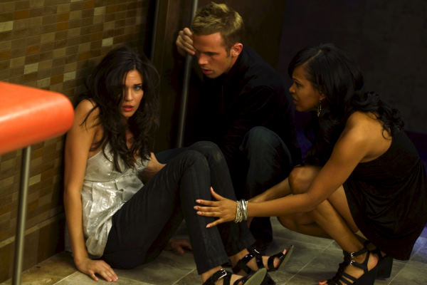 Meagan Good, Odette Annable, and Cam Gigandet in The Unborn (2009)