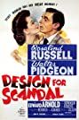 Design for Scandal (1941) Poster