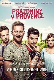Prazdniny v Provence Poster