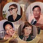 Mel Lisboa, Larissa Nunes, Pathy Dejesus, and Maria Casadevall in Rádio Coisa Mais Linda (2020)