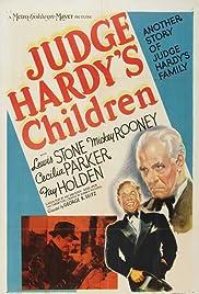 Judge Hardy's Children Poster
