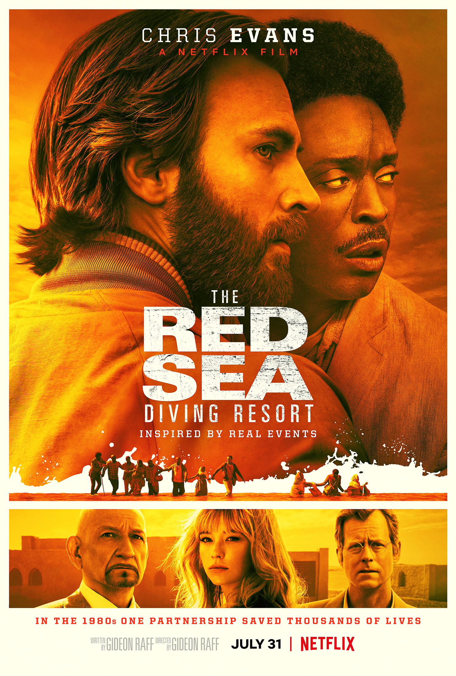 Resultado de imagen para The Red Sea Diving Resort | Official Trailer | Netflix