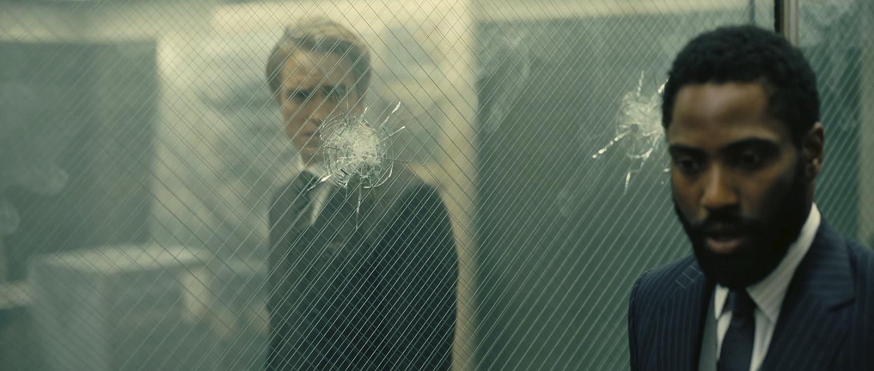 John David Washington and Robert Pattinson in Tenet (2020)