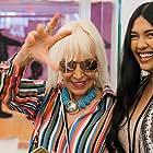 Marta Minujin and Tasha Dwhaj in URHere with Artist Marta Minujín at the New Museum (2019)