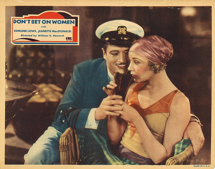 Image result for dont bet on women 1931