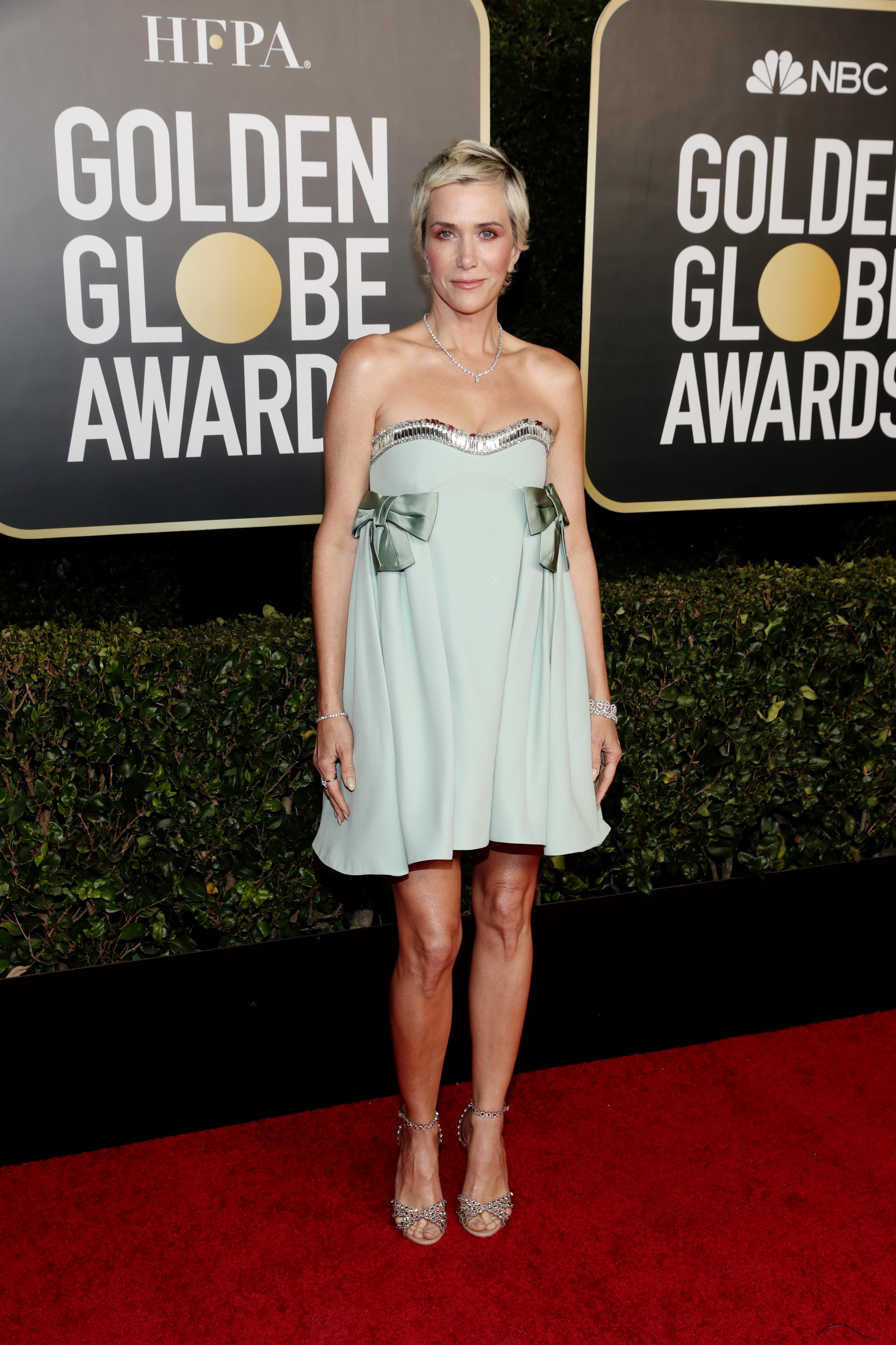 Kristen Wiig at an event for 2021 Golden Globe Awards (2021)