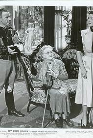 Elisabeth Risdon, Helen Walker, and Robert B. Williams in My True Story (1951)