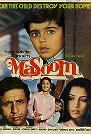 Masoom(1983) Poster - Movie Forum, Cast, Reviews