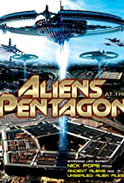 Aliens at the Pentagon Poster