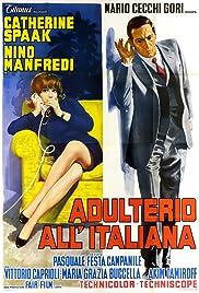 Adulterio all'italiana Poster