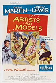 Shirley MacLaine, Jerry Lewis, and Dean Martin in Artists and Models (1955)