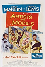 Artists and Models (1955) Poster - Movie Forum, Cast, Reviews