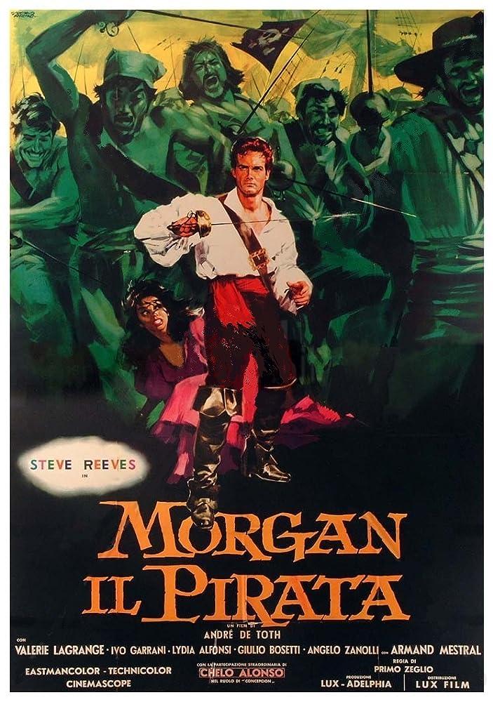 Morgan il pirata (1960)