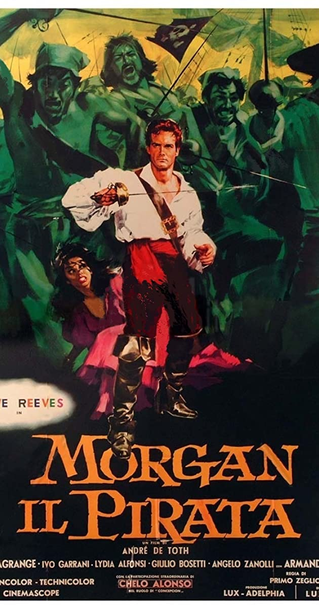 Morgan, the Pirate (1960) - IMDb