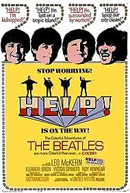Paul McCartney, John Lennon, George Harrison, Ringo Starr, and The Beatles in Help! (1965)