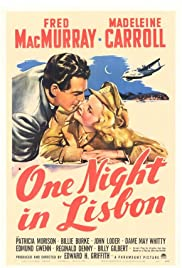 One Night in Lisbon Poster