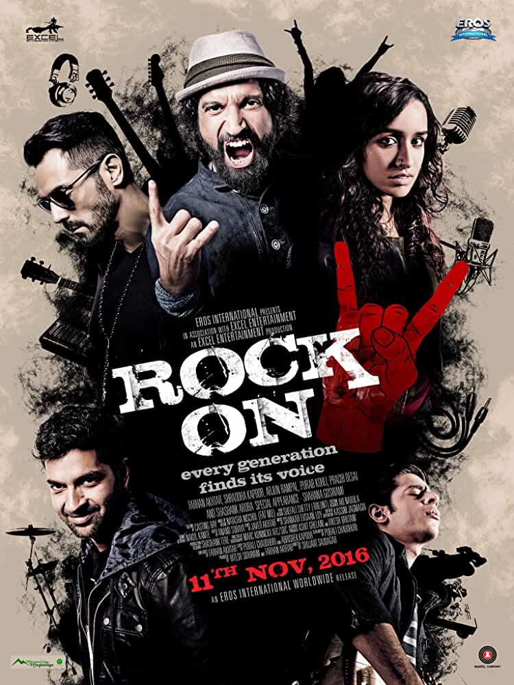 Rock On 2 (2016) centmovies.xyz